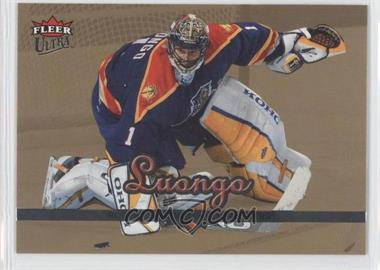 2005-06 Fleer Ultra - [Base] - Gold Medallion #86 - Roberto Luongo