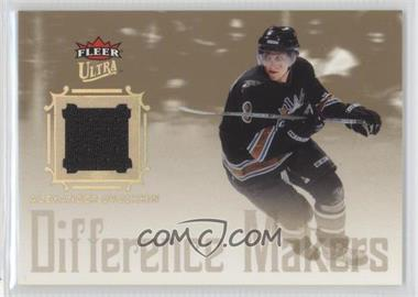 2005-06 Fleer Ultra - Difference Makers Jersey #DMJ-AO - Alex Ovechkin