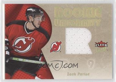2005-06 Fleer Ultra - Rookie Uniformity #RU-ZP - Zach Parise