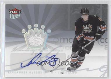 2005-06 Fleer Ultra - Scoring Kings Jersey - Autographs [Autographed] #KAJ-AO - Alex Ovechkin /20
