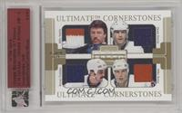 Denis Potvin, Bryan Trottier, Mike Bossy, Billy Smith [Uncirculated] #/1