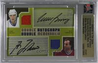 Mike Bossy, Guy Lafleur [Uncirculated] #/1