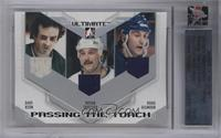 Dave Keon, Bryan Trottier, Doug Gilmour /25 [Uncirculated]