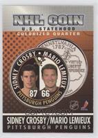 Sidney Crosby, Mario Lemieux
