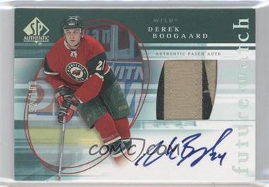 2005-06 SP Authentic - [Base] - Limited #162 - Derek Boogaard /100