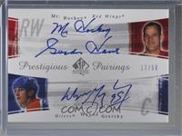 Gordie Howe, Wayne Gretzky /50