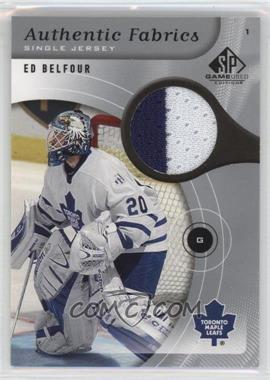 2005-06 SP Game Used Edition - Authentic Fabrics #AF-EB - Ed Belfour