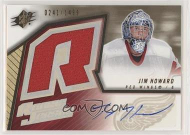 2005-06 SPx - [Base] #175 - Jimmy Howard /1499
