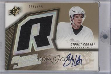 2005-06 SPx - [Base] #191 - Sidney Crosby /499