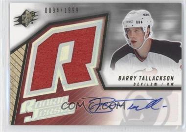 2005-06 SPx - [Base] #235 - Barry Tallackson /1999