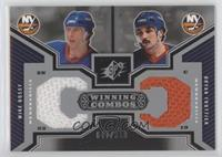 Mike Bossy, Bryan Trottier [EX to NM] #/350