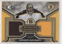 Andrew Raycroft #/99