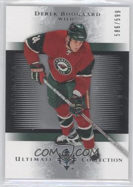2005-06 Ultimate Collection - [Base] #151 - Derek Boogaard /599