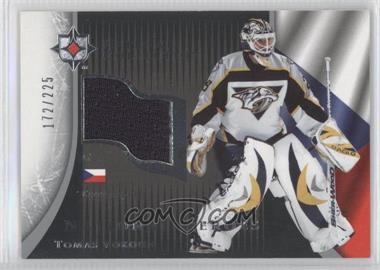 2005-06 Ultimate Collection - National Heroes #NHJ-TV - Tomas Vokoun /225