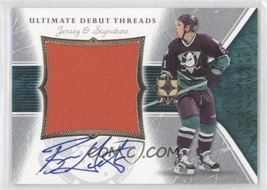 2005-06 Ultimate Collection - Ultimate Debut Threads - Jersey & Signature [Autographed] #DAJ-RG - Ryan Getzlaf /25