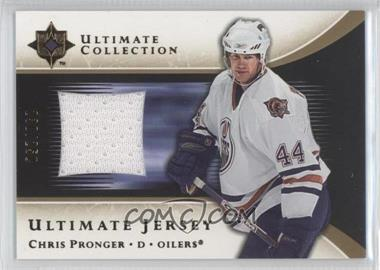 2005-06 Ultimate Collection - Ultimate Jersey #J-CP - Chris Pronger /250