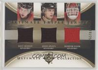 Dany Heatley, Jason Spezza, Dominik Hasek /25