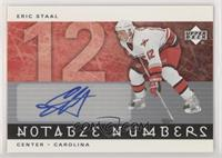 Eric Staal #/12