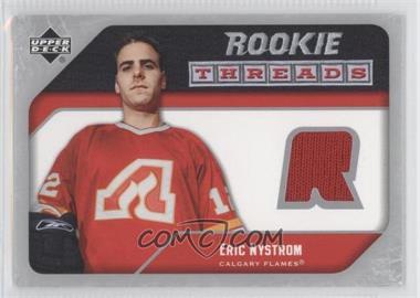 2005-06 Upper Deck - Rookie Threads #RT-EN - Eric Nystrom