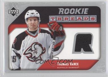2005-06 Upper Deck - Rookie Threads #RT-TV - Thomas Vanek