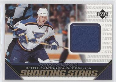 2005-06 Upper Deck - Shooting Stars Game-Used Memorabilia #S-KT - Keith Tkachuk