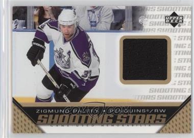 2005-06 Upper Deck - Shooting Stars Game-Used Memorabilia #S-ZP - Zigmund Palffy