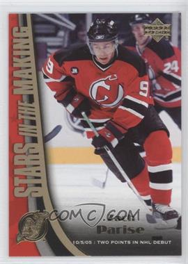 2005-06 Upper Deck - Stars in the Making #SM13 - Zach Parise