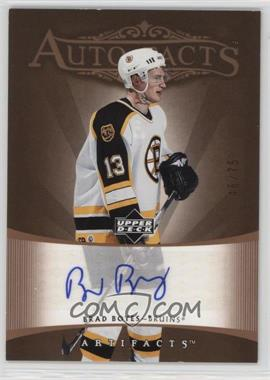 2005-06 Upper Deck Artifacts - Auto-Facts - Copper [Autographed] #AF-BB - Brad Boyes /75