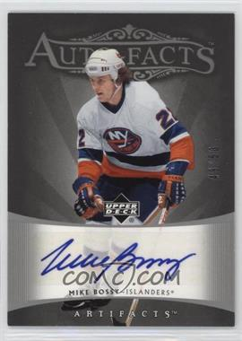 2005-06 Upper Deck Artifacts - Auto-Facts - Silver [Autographed] #AF-BO - Mike Bossy /50