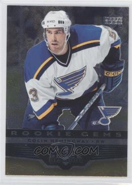 2005-06 Upper Deck Black Diamond - [Base] #280 - Colin Hemingway