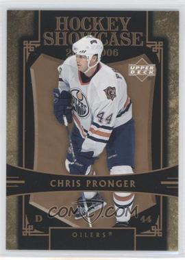2005-06 Upper Deck Hockey Showcase - [Base] #HS2 - Chris Pronger