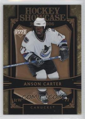 2005-06 Upper Deck Hockey Showcase - [Base] #HS20 - Anson Carter