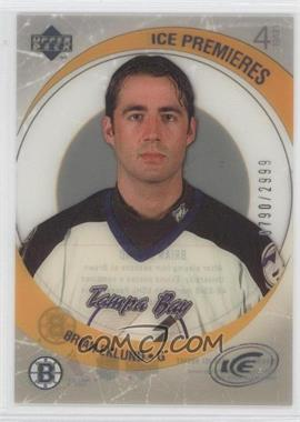 2005-06 Upper Deck Ice - [Base] #208 - Brian Eklund /2999