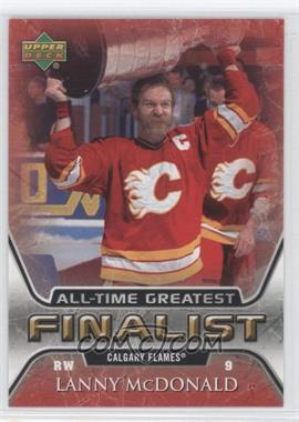 2005-06 Upper Deck NHL Finalist - [Base] #10 - Lanny McDonald