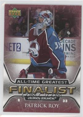 2005-06 Upper Deck NHL Finalist - [Base] #16 - Patrick Roy