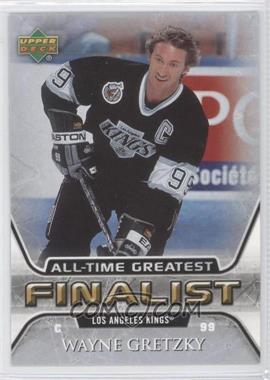 2005-06 Upper Deck NHL Finalist - [Base] #27 - Wayne Gretzky