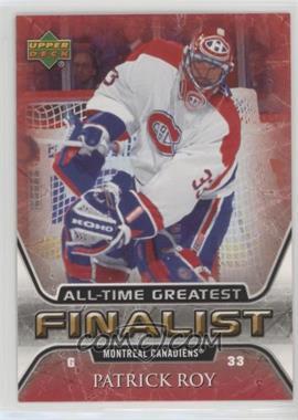 2005-06 Upper Deck NHL Finalist - [Base] #31 - Patrick Roy