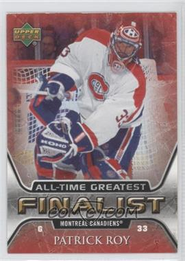 2005-06 Upper Deck NHL Finalist - [Base] #31 - Patrick Roy