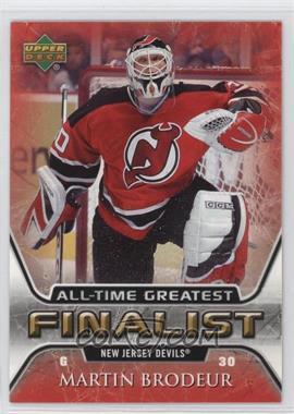 2005-06 Upper Deck NHL Finalist - [Base] #35 - Martin Brodeur