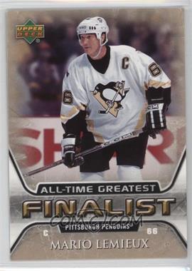 2005-06 Upper Deck NHL Finalist - [Base] #47 - Mario Lemieux