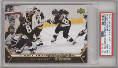 2005-06 Upper Deck Rookie Class - Commemorative Card Boxtoppers #CC-1 - Sidney Crosby [PSA 10 GEM MT]