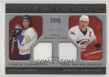 2005-06 Upper Deck Rookie Update - [Base] #251 - Rod Brind'Amour, Chris Thorburn /999