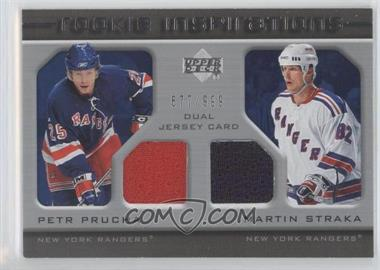 2005-06 Upper Deck Rookie Update - [Base] #255 - Petr Prucha, Martin Straka /999