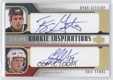2005-06 Upper Deck Rookie Update - [Base] #256 - Ryan Getzlaf, Eric Staal /499