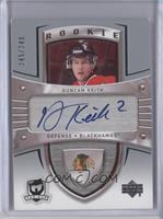 Rookie Autograph - Duncan Keith #/249