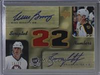 Mike Bossy, Brian Leetch #/22