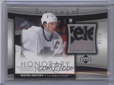 2005-06 Upper Deck Trilogy - Honorary Patches #HP-WG - Wayne Gretzky /10