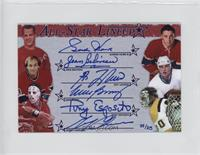 All-Star Lineup - Gordie Howe, Jean Beliveau, Guy Lafleur, Mike Bossy, Tony Esp…