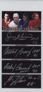 2005-Present BOSSA Autographs - [Base] - [Autographed] #NFLH - Legends of the Hall - Jean Beliveau, Mike Bossy, Gilbert Perreault, Guy Lafleur, Cam Neely, Grant Fuhr, Ted Lindsay, Glenn Hall /25