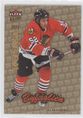 2006-07 Fleer Ultra - [Base] - Gold Medallion #204 - Dustin Byfuglien